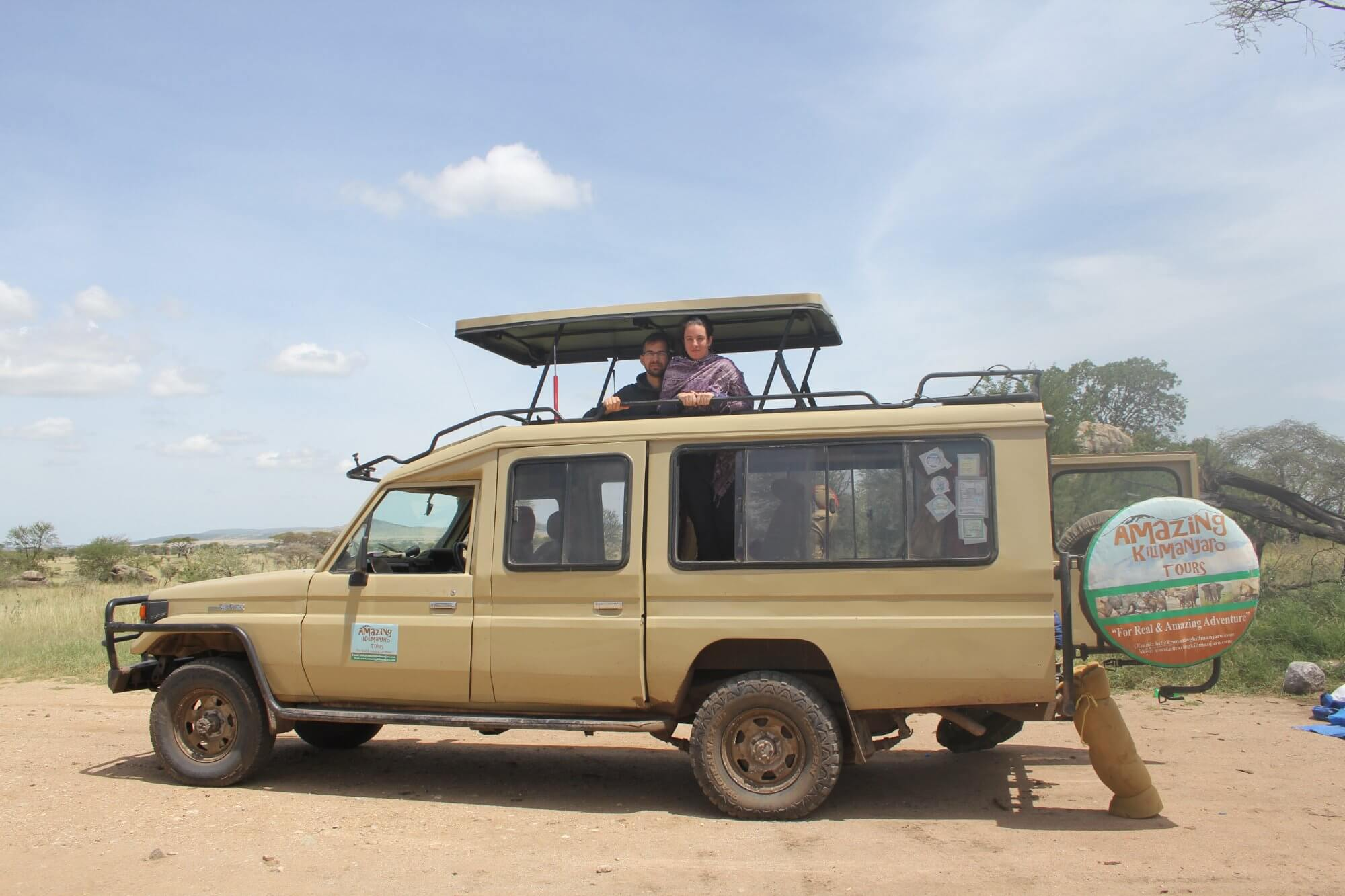 Our safari vehicles Serengeti national park tour
